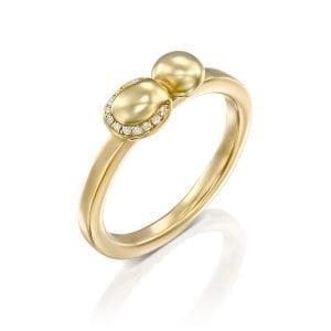 Two domes ring